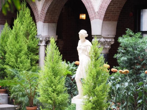 Interior Courtyard at Isabella Stewart Gardner Museum, Boston