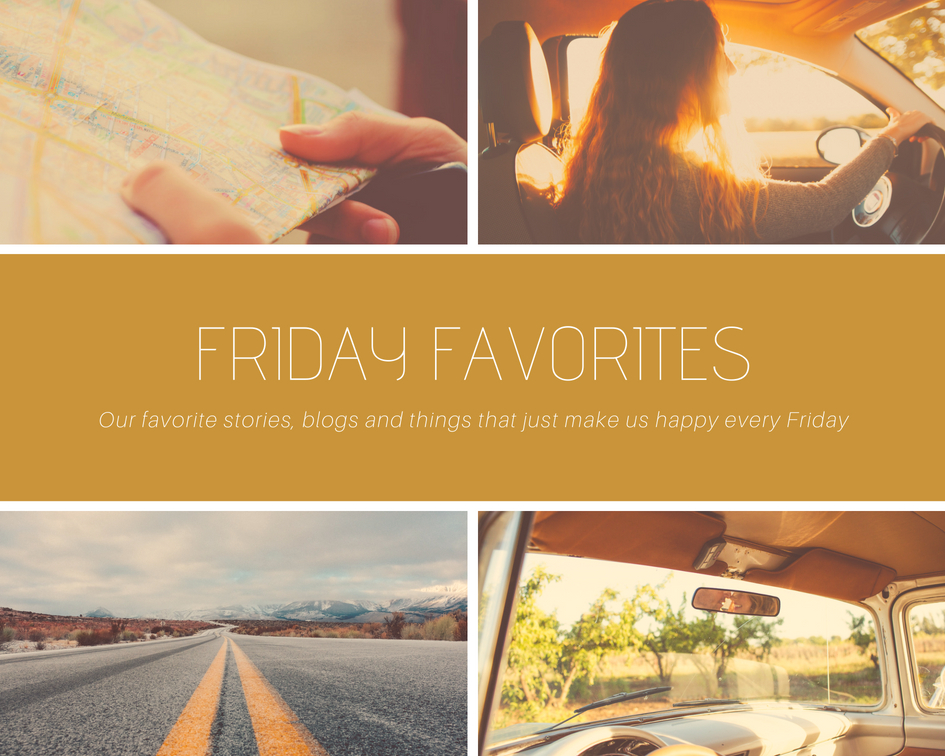 FRIDAY FAVORITES -