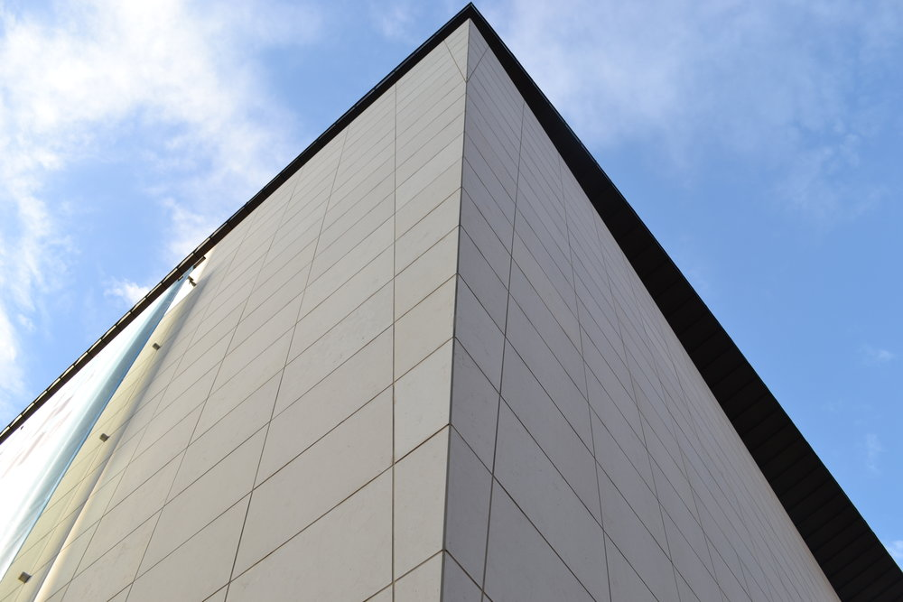 BATA SHOE MUSEUM - Exterior Stone