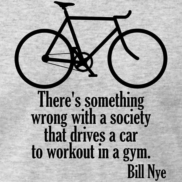 Food for thought! Get out there and pedal 🚴🚴