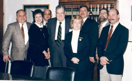Pat Neuhauser, second from left