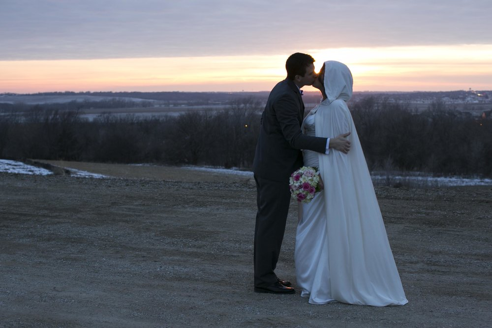 Rebecca and Glen - A real nebraska wedding