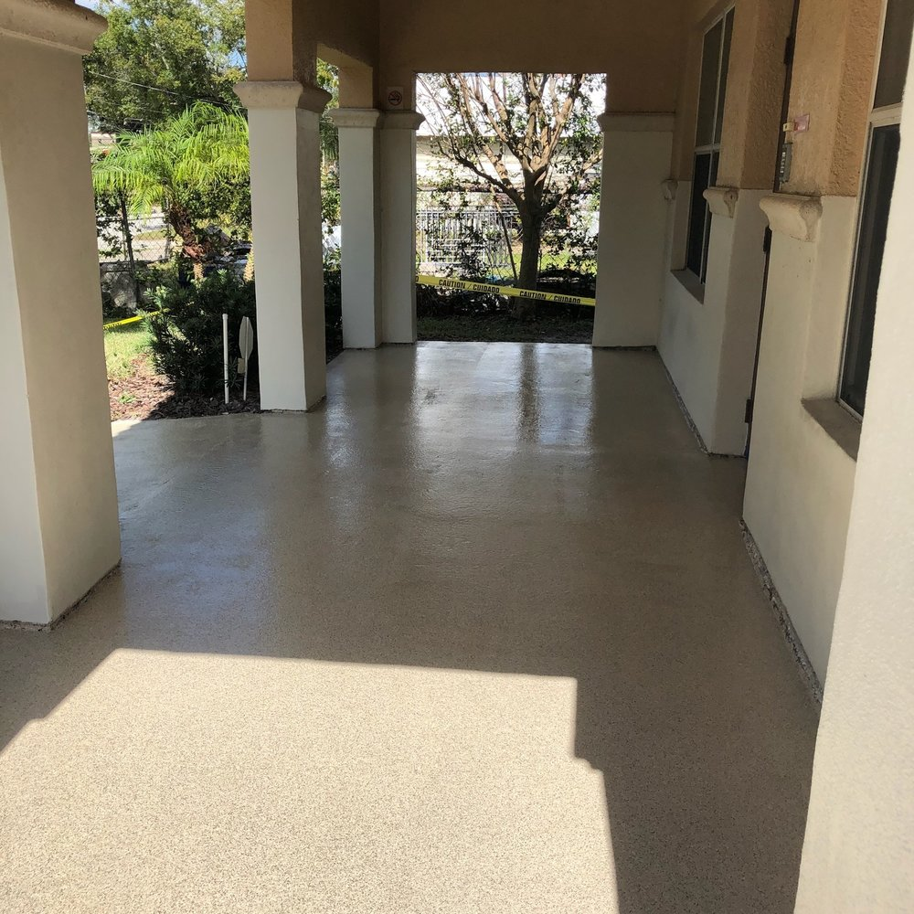 What could be more welcoming than a front porch that looks great, is easy to clean, and is highly durable?