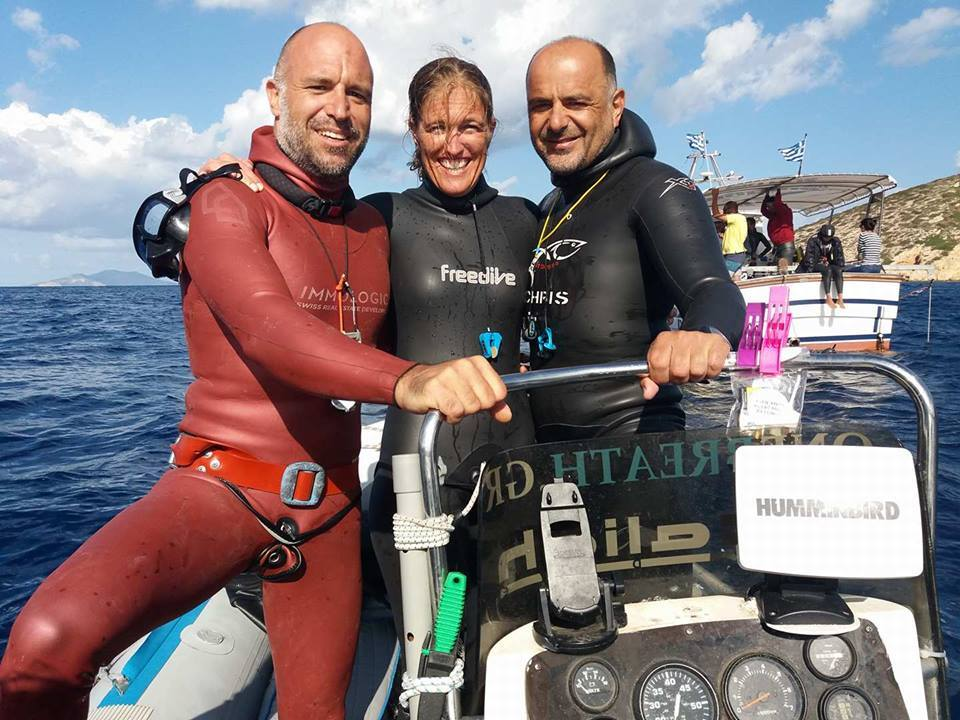 2017 Authentic Big Blue Competition, Amorgos Greece