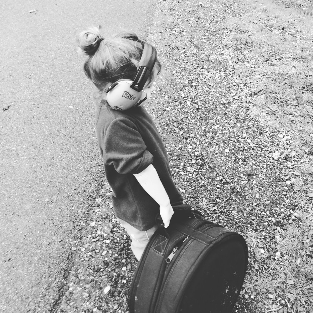Boo - Resident Roadie & Apprentice Master Drummer
