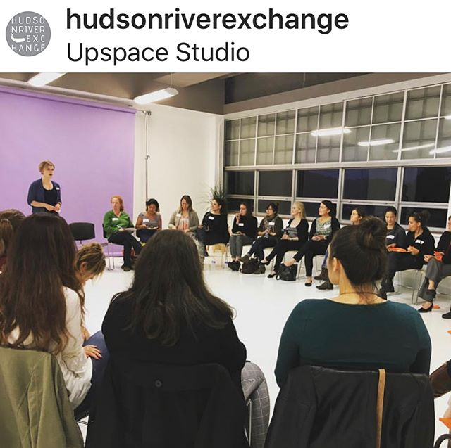 What a great event we had here with @hudsonriverexchange and @hvwib I highly recommend both groups for support and community for business and creative motivation. Repost from @hudsonriverexchange  #womeninbusiness #artstudio#hudsonvalleycommunity #craftmovement #rentalspace #kingstonny #hudsonvalleyphotographer #photographystudio