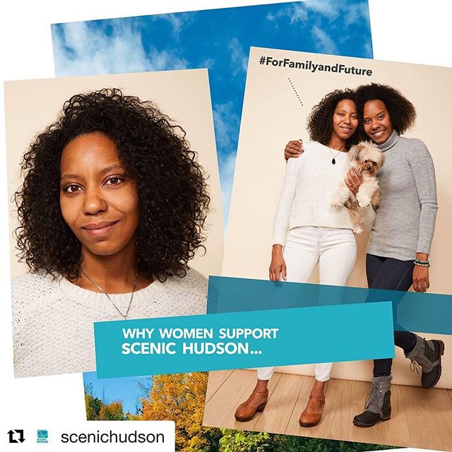 """Work we did for Scenic Hudson, meeting so many amazing locals. Give to Scenic Hudson this #givingtuesday to conserve our beautiful Hudson Valley for everyone to enjoy in the future  #Repost @scenichudson with @get_repost ・・・ Join the Women Uniting to Support our Valley—  Together We Make a Difference  OUR WORK: • Connects families and communities with over 3,000 acres of parks • Sustains 120+ family farms that supply fresh, local food • Teaches 1000s of schoolchildren about wildlife in """"outdoor classrooms"""" • Renews natural beauty in urban communities.  This #GivingTuesday, help protect the beauty and bounty of the Hudson Valley.  Visit scenichudson.org/womenunited to make a difference together!  WHY DO @_ERICALBROWN AND @TRUELOVE_ISEVERYTHING SUPPORT SCENIC HUDSON? """"Because the human spirit comes alive when it begins to connect with nature and @scenichudson works to preserve this experience for everyone."""" —Erica Brown  #ForGenerationsToFollow """"Because it's so important to preserve nature in its most raw form. I feel at ease knowing they are always working diligently to keep our Hudson Valley beautiful, healthy and happy."""" —Shawna-Marie Brown  #Formyfuturechildren #FortheHudsonValley"""