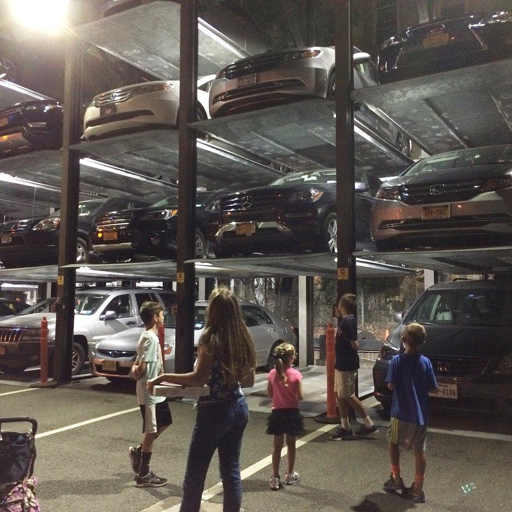 NYC chinatown parking garage.JPG