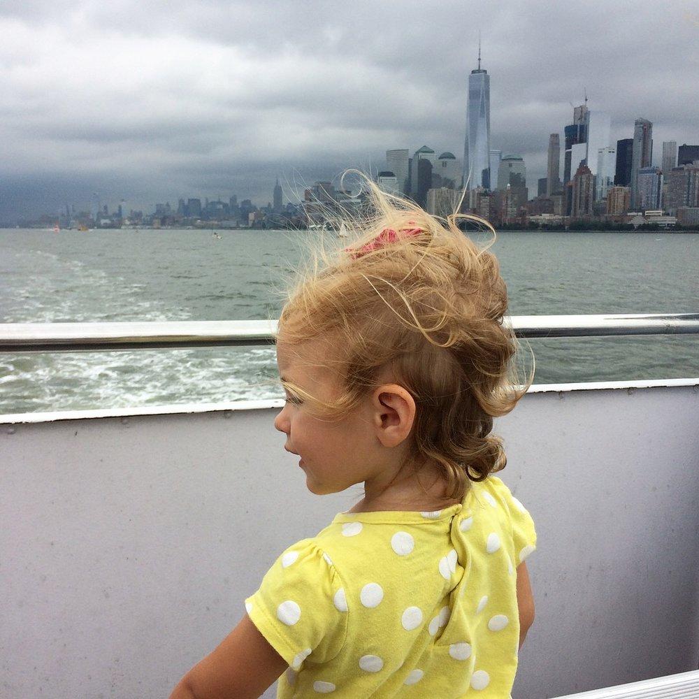 NYC statue of liberty cruise.JPG