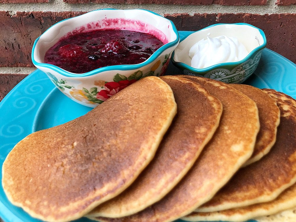 whole wheat oatmeal pancakes 4.JPG