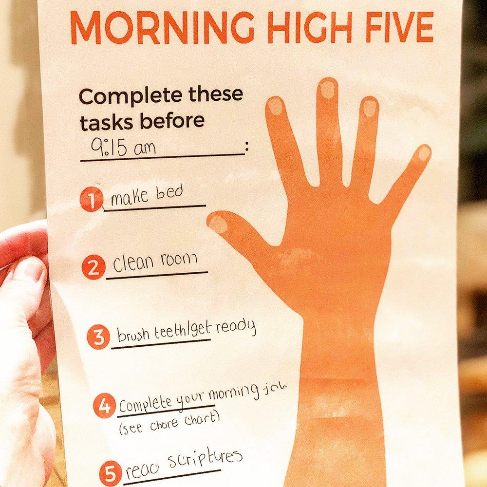 stef high five.JPG