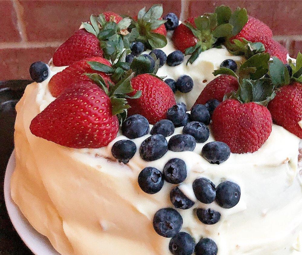 angel food cake with fruit 2.JPG