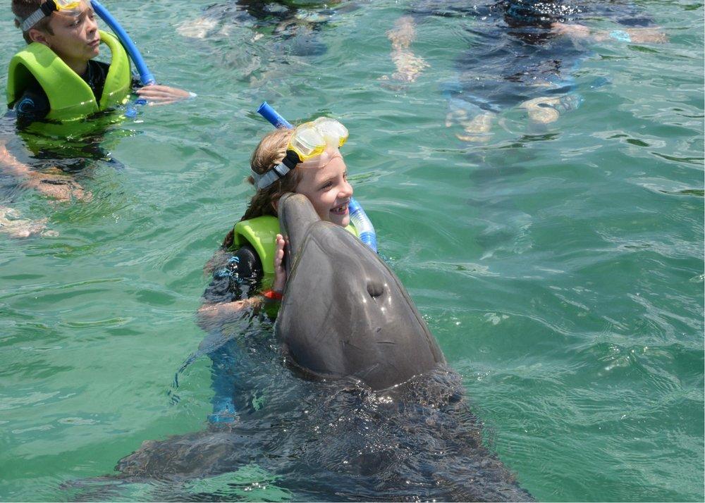 hallie dolphin kiss.jpg