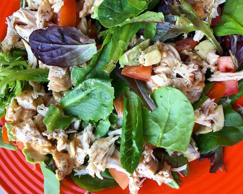 homemade chickfila sauce salad 1.JPG