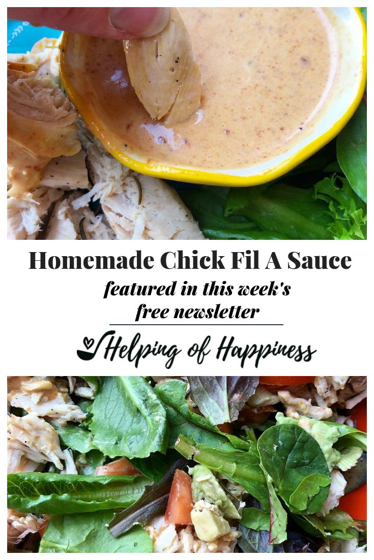 Homemade Chick Fil A Sauce