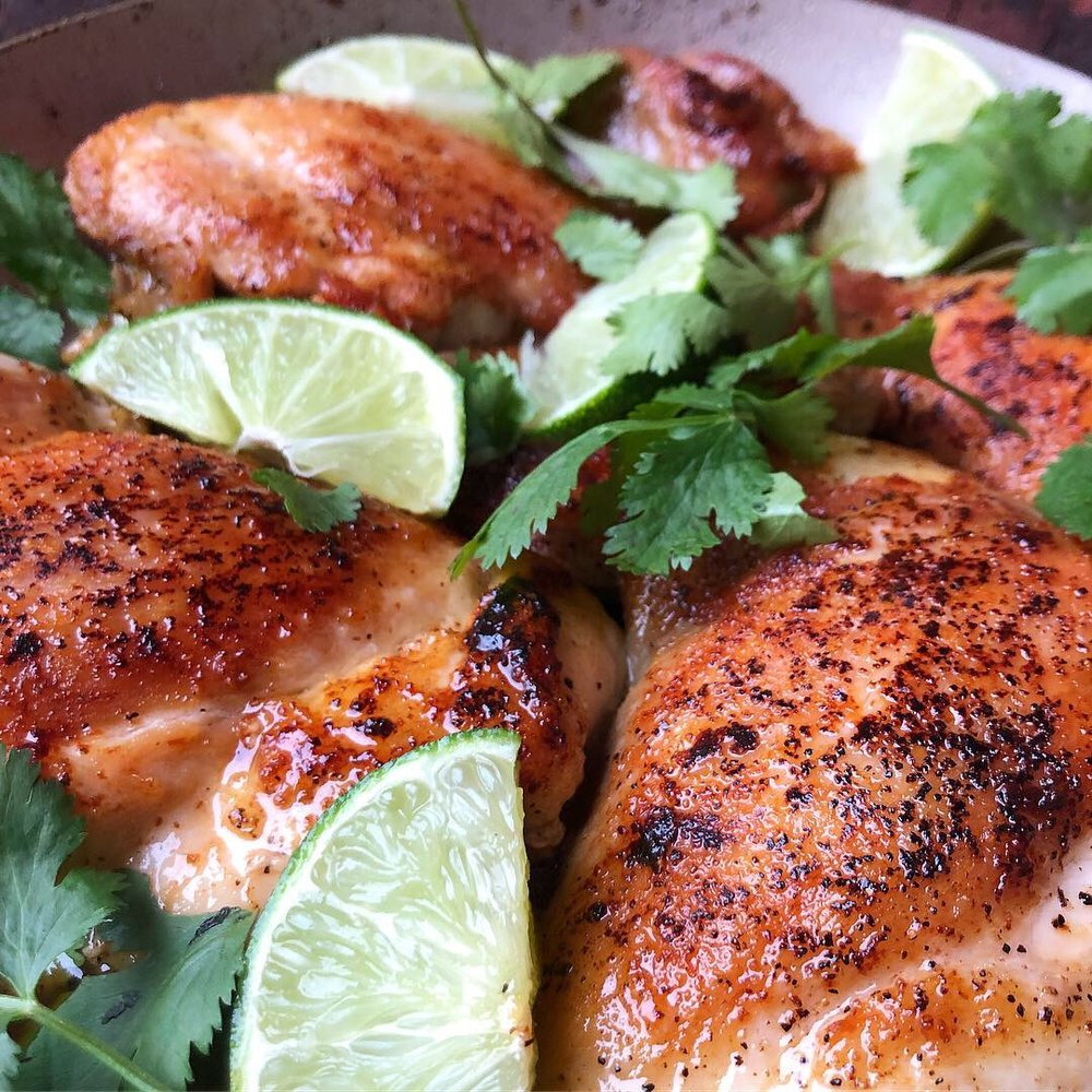 pan fried honey lime chicken thighs 5.JPG