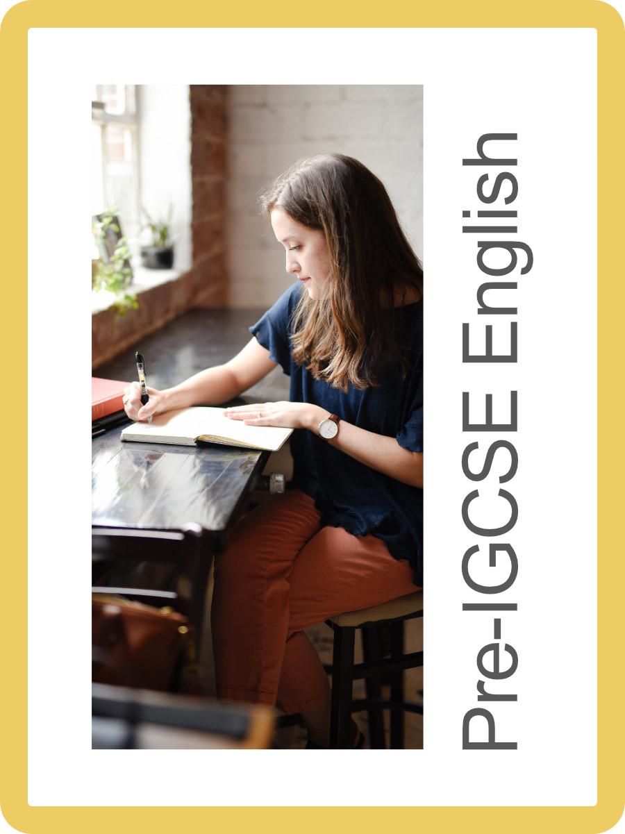 Pre-IGCSE English Language Login