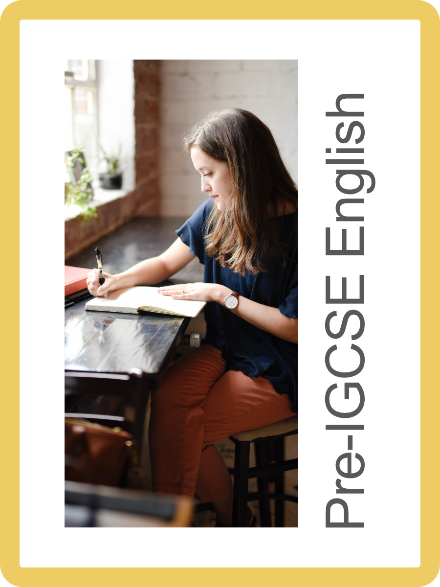 Pre-IGCSE English Language - A gentle introduction to the IGCSE course for students who need a bit more practice with 'brushing up on the basics' before embarking on the exam level course.