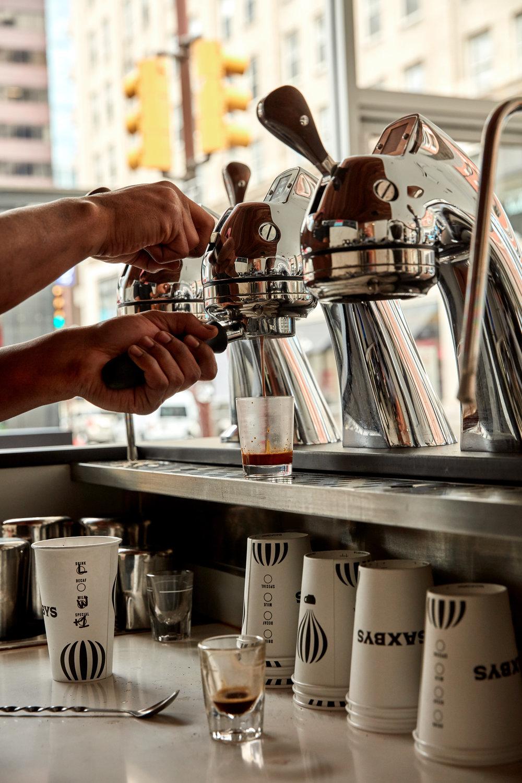 Saxbys (espresso pic) - credit Jason Varney