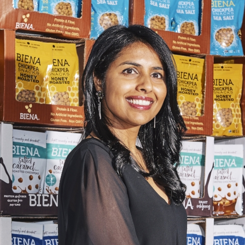 Poorvi Patodia, Founder, Biena Snacks