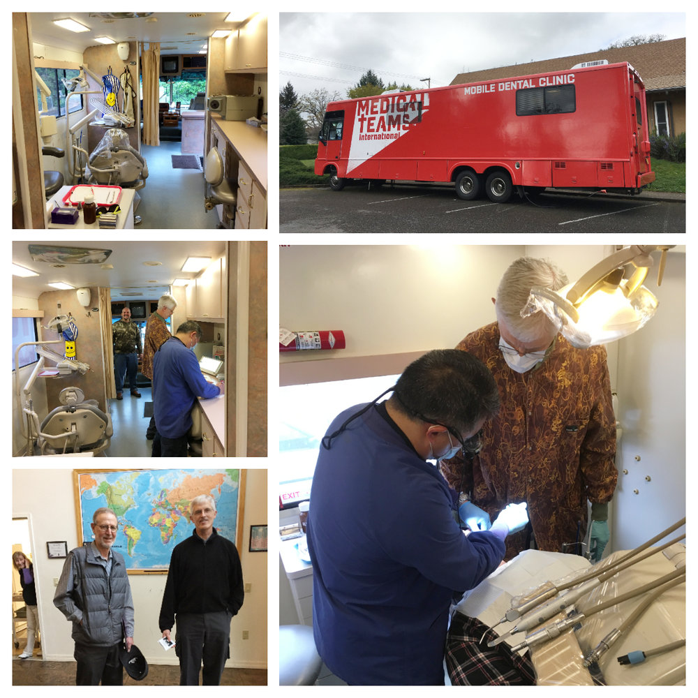 Medical Teams International Mobile Dental Van