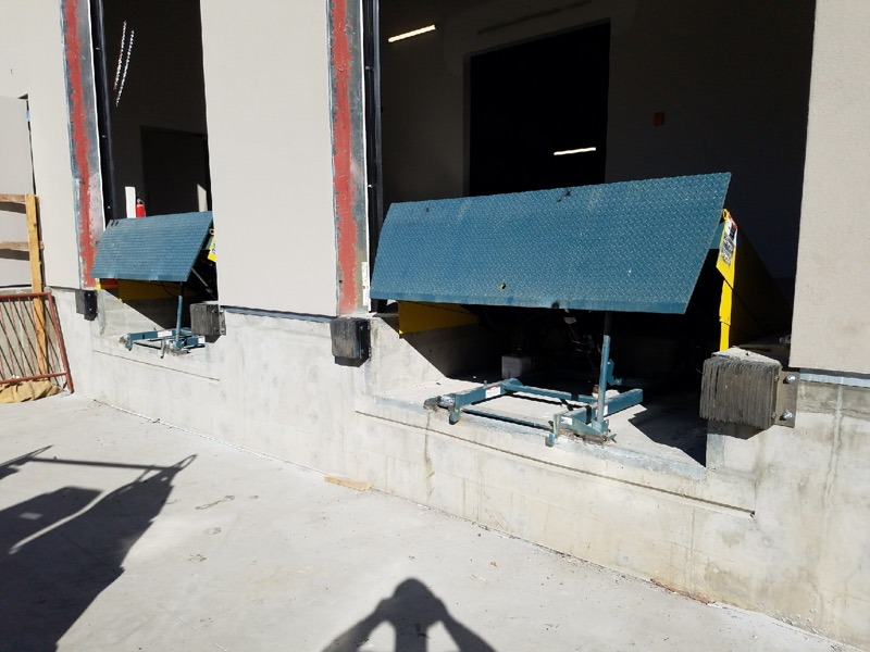 Dock Equipment - Dock Levelers, Seals, and Bumpers, are recoiling and resilient devices that attached to a loading dock in order to absorb the impact of any hits by vehicles and maximize the efficiency of conveyance of goods.