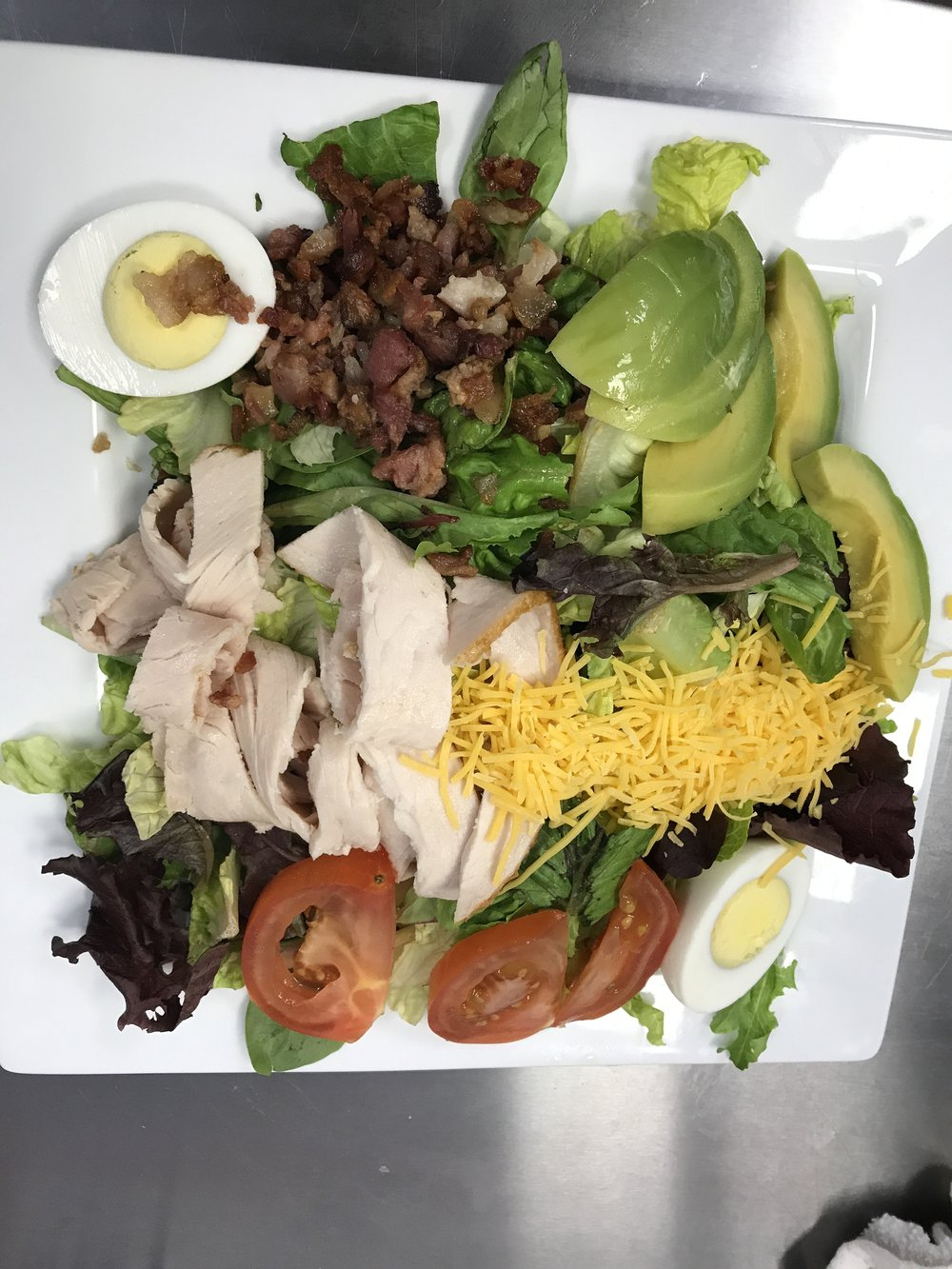 Salt and Pepper Cobb Salad