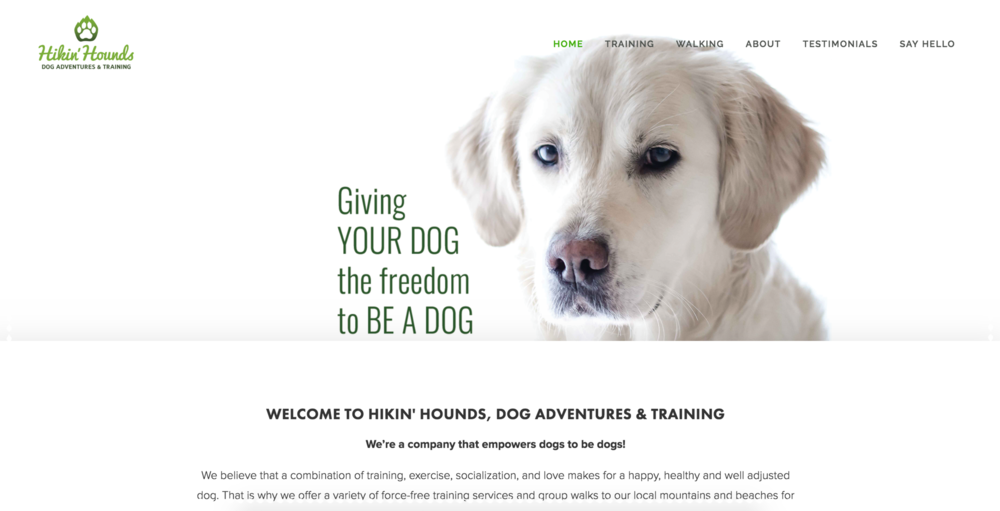 Hikin' Hounds -