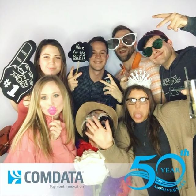 We had so much fun celebrating 50 years with @comdata last night @hq_nashville! Happy 50th Anniversary Comdata! Here's to another 50! 🎉 .. . . . . . #creativebooth#photobooth#nashvillephotobooth#comdata#comdatanatsko##comdata50thanniversary#franklinphotobooth#tennesseephotobooth#nashvilleevents