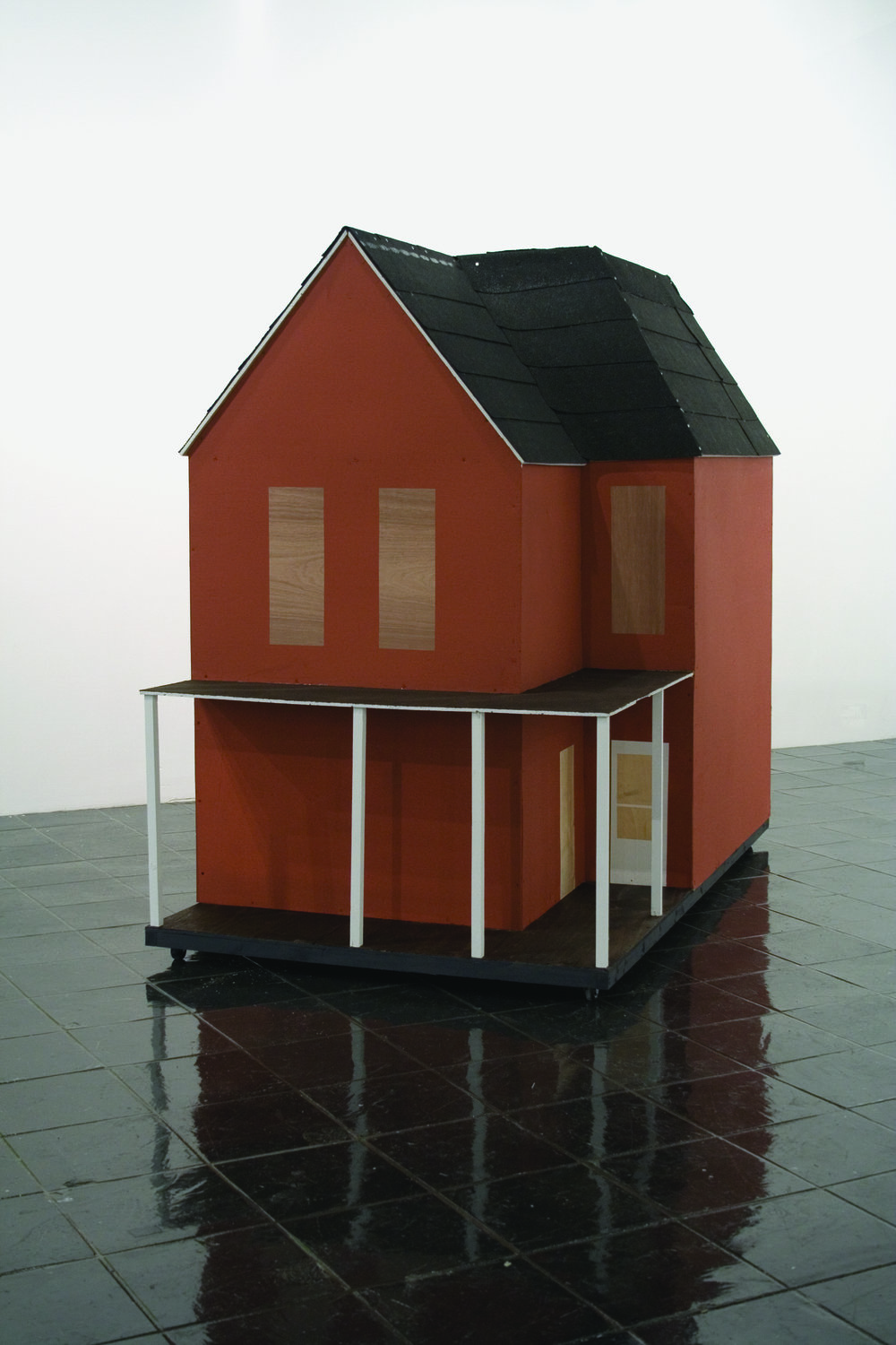 Eric Araujo,  The House Project , 2008; mixed media, dimensions variable; courtesy of the artist