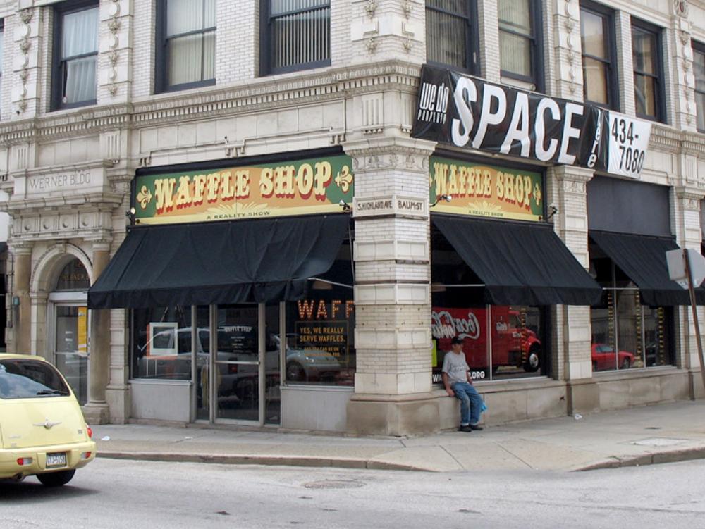 Jon Rubin,  Waffle Shop , Pittsburgh, PA;ongoing restaurant/classroom/talk show