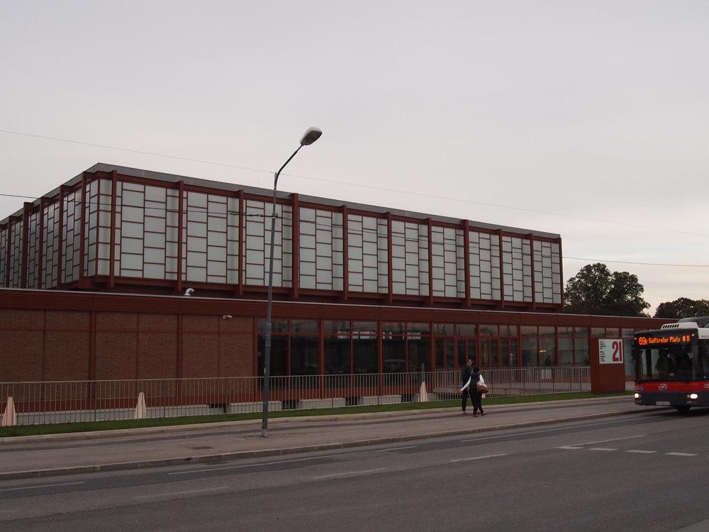 The 21er Haus,designed by Austrian architect Karl Schwanzer, Vienna, Austria