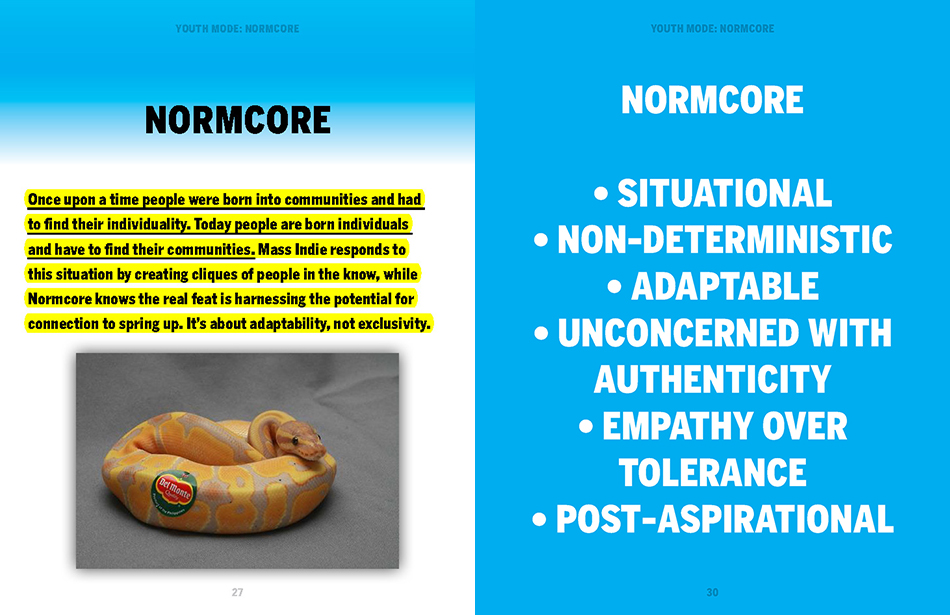 Page from  YOUTH MODE: A REPORT ON FREEDOM.