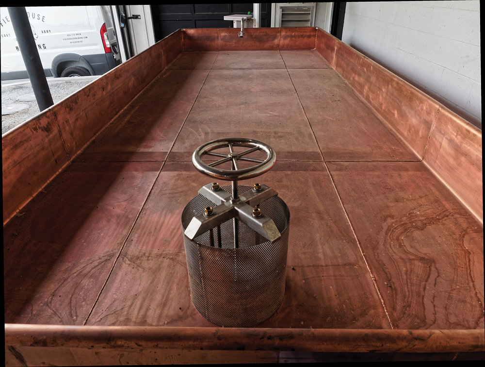 copper coolship