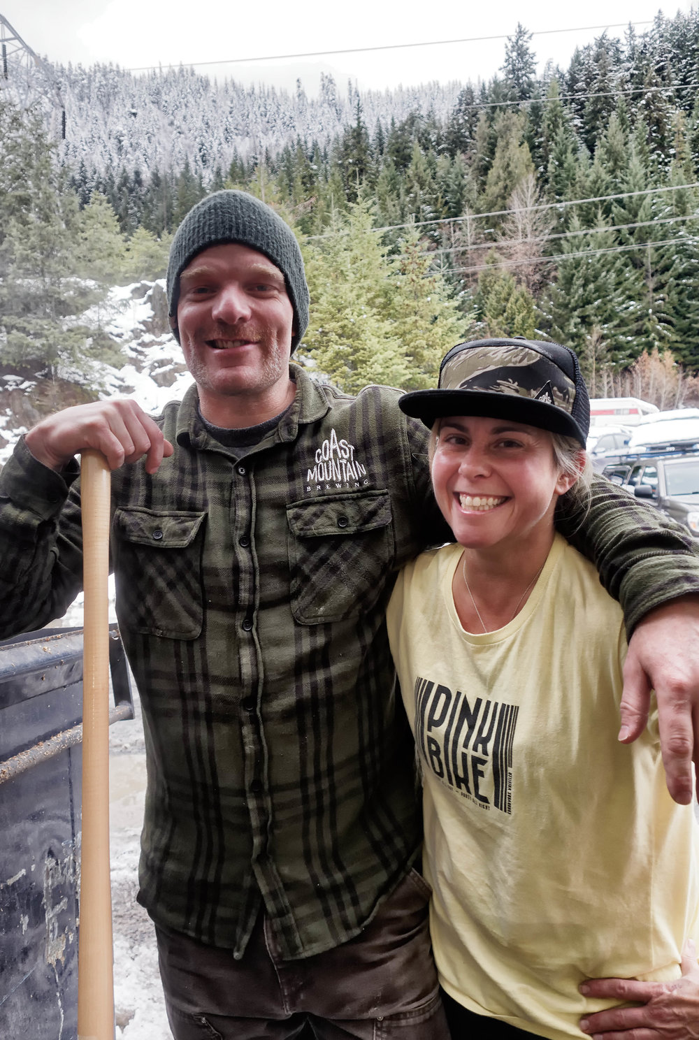 Kevin Winter & Tanya Crocker - Coast Mountain Brewery