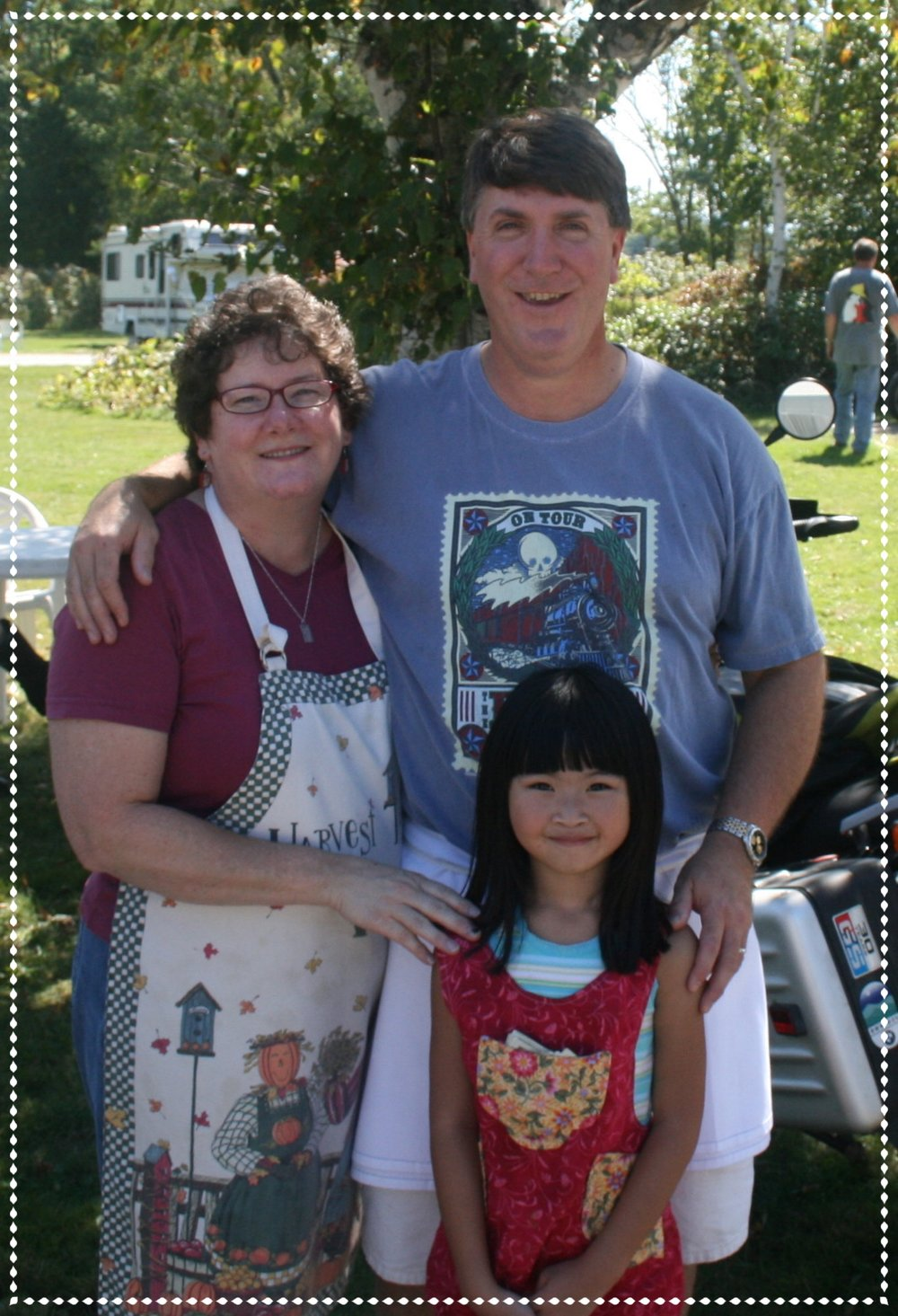 At the time, - Jeff and I were childless and it didn't seem possible that we could be full-time innkeepers and parents, too. Through a series of chance encounters and events, we were lead to parenting through adoption. In the Spring of 2005, we were holding a beautiful baby girl we named Alexis. The missing piece clicked into place and we learned to juggle innkeeping while raising our daughter.Alexis is now nearly 14-years old and she will be starting high school in the Fall. Time has truly flown! While there have been many challenges there have been so many more joyful moments.So often my friend's words have come to mind -