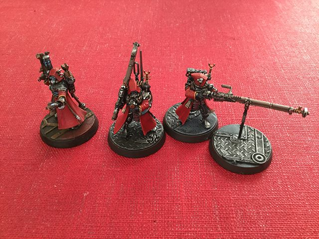 Some more #killteam  #AdMech #skitarii join the fray. #warhammer40k #warhammer #adeptusmechanicus
