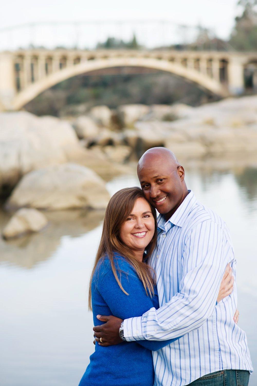 Tiffany Duckens and her husband, Myron
