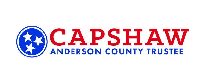 Capshaw for Anderson County Trustee
