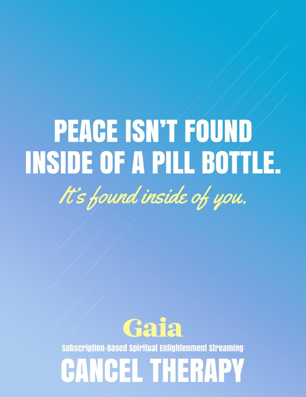 Gaia — Sandi Spino - Copywriter