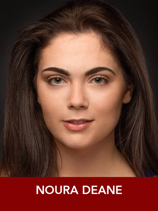 NOURA DEANE  ( Ensemble ) is extremely excited to be returning to RMT! She is a rising senior at the Boston Conservatory and appeared in RMT's  Show Boat  last summer. Thanks to my teachers and family for their support and guidance!
