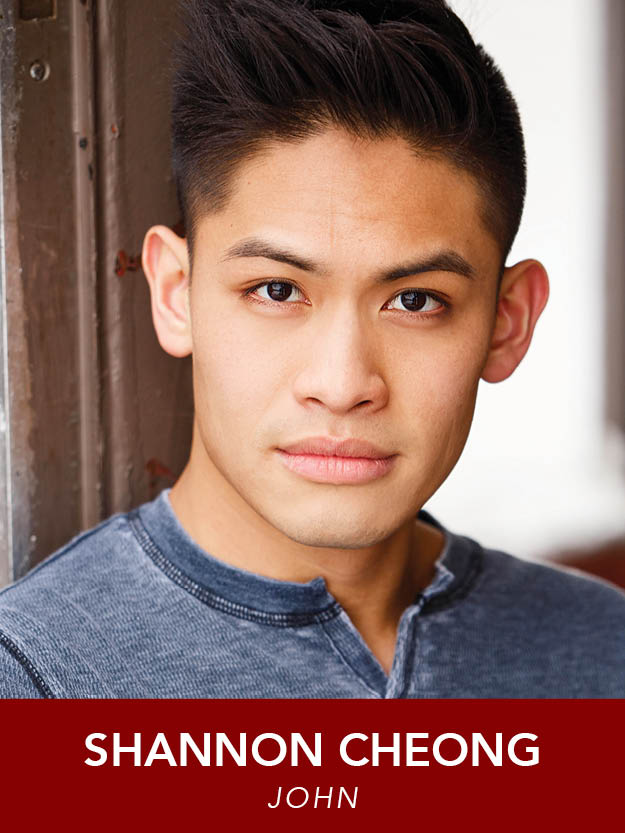 SHANNON CHEONG  ( John ) is ecstatic to be making his Reagle debut in  Anything Goes . He is extremely happy for the cast and crew for being so welcoming. Many thanks go to Eileen and Dan for this opportunity. shannonignatiuscheong.com