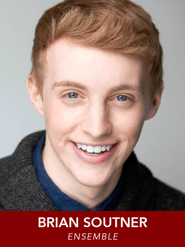 BRIAN SOUTNER  ( Ensemble ) is grateful to be in  The Music Man  after recently performing in  Anything Goes  at RMT! He is a rising Junior BFA Acting major at Point Park's University's Conservatory of Performing Arts. Enjoy the show!