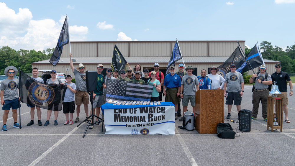 End of Watch Memorial Ruck