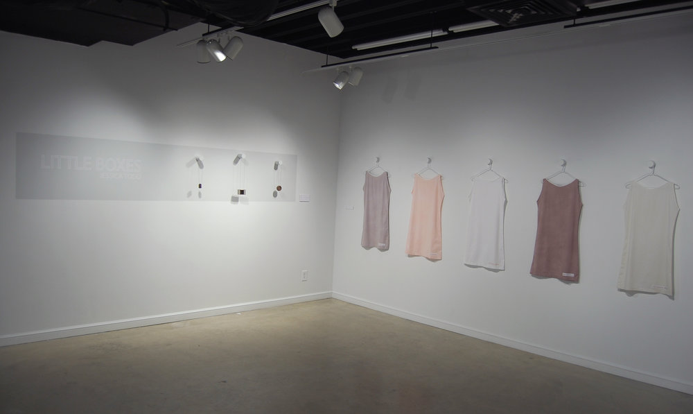 Figure 16:  Little Boxes  Installation View 1