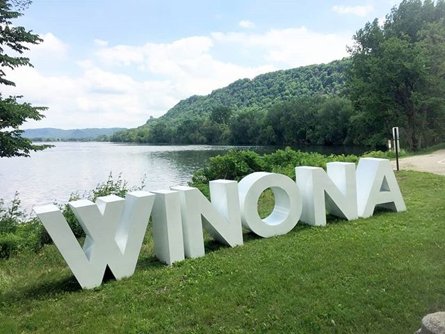 Do you live near Winona, MN and are looking for something fun to do out in the sun this weekend? Come see our letters at the Winona Visitors Center! Located between the big and small lake on Huff St. . . . . #yourtype #ypurtypeletters #winonamn #winonarts #bigletters #summer