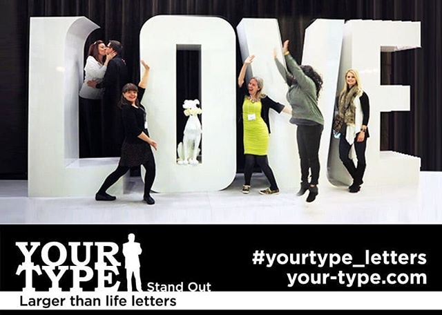 We L.O.V.E Sundays! BBQing, spending time with family, relaxing in the sun - whatever you're doing this Sunday, we hope your day is filled with L.O.V.E. . . . . #yourtype #yourtypeletters #love #loveletters #sundaylove #summerlove #eventplanner