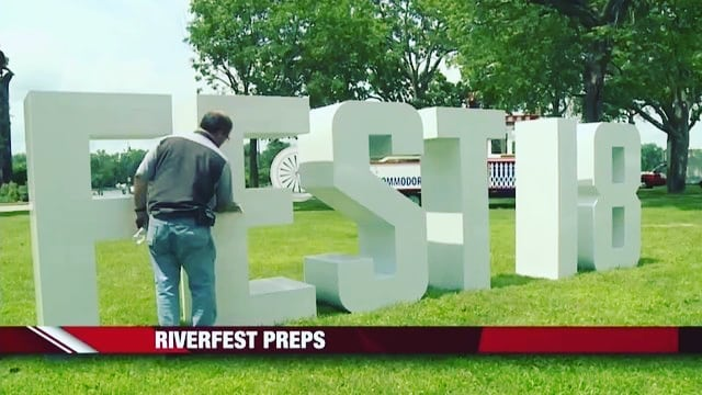 Tomorrow is the 4th of July and we're excited to set up letters for Riverfest 2018! Come on down to the Riverside Park in La Crosse, WI tomorrow - the festivities open at 11am. Can't make it tomorrow? Don't worry - the festivities go until Saturday! . . . . #lacrossewisconsin #lacrossewi #riverfest2018 #riverfest #fourthofjuly #yourtypeletters #eventplanner #event #festivities