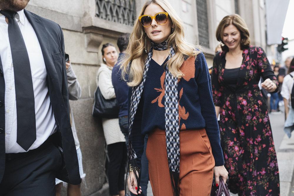 Olivia Palermo | Milan