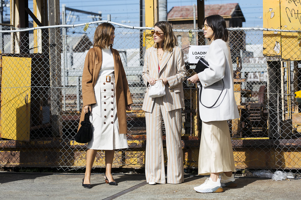 Recent Street Style Photography for Harpers Bazaar Australia at Mercedes Benz Fashion Week Australia 2018